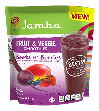 Jamba at home smoothies Beets n' Berries